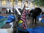 Occupy Wall Street in the rain
